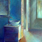 2014 / huile et collage sur toile taille : 38x61 cm