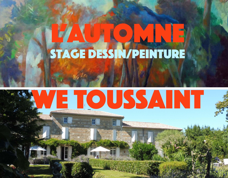 Stage Dessin Peinture Toussaint Pres D Agen Sybille M